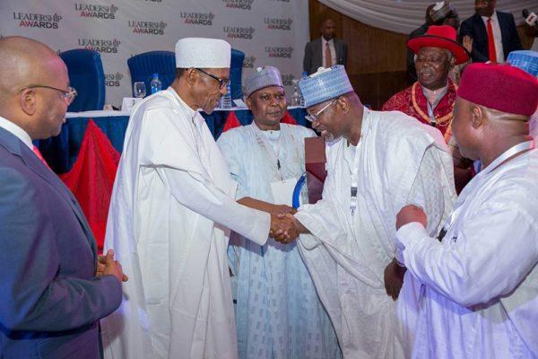 President Buhari Leadership Award2