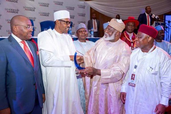 President Buhari Leadership Award4