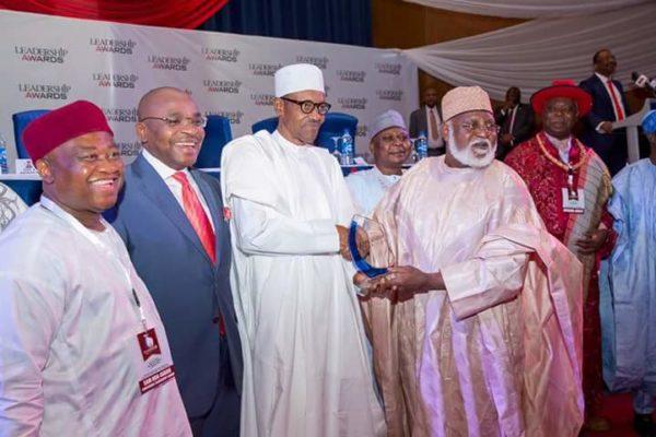President Buhari Leadership Award5