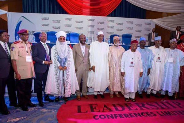 President Buhari Leadership Award7