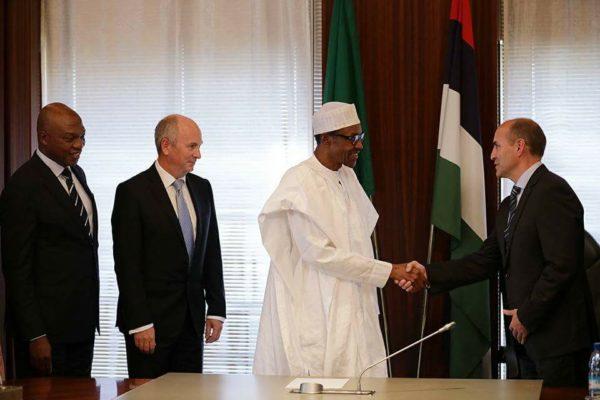 President Buhari and Shell