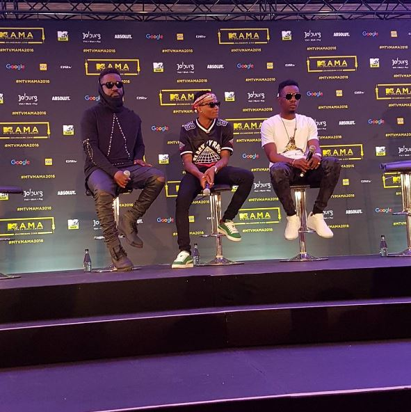 Countdown to #MTVMAMAs! Wizkid, Falz, Patoranking, Sarkodie, Simi & More at the MAMAs 2016 Press Conference