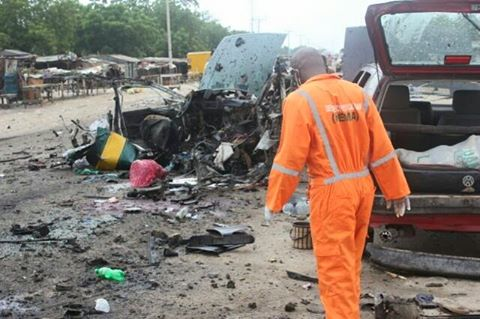 Scene of Maiduguri Attack1