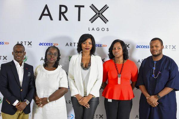 Segun Ogunleye (7-Up); Bisi Silva; Tokini Peterside (ART X Lagos); Olubusola Osilaja (Access Bank); Atowari Peterside (ANAP Jets)