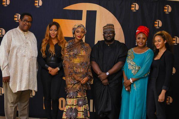 Sons of the Caliphate Cast & Crew- Patrick Doyle, Yvonne Hays, Rahama Sadau, Dimbo Atiya, Nita Byack George & Nadine Ibrahim
