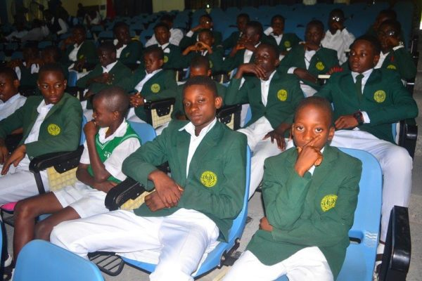 Students of St Patrick College- Calabar