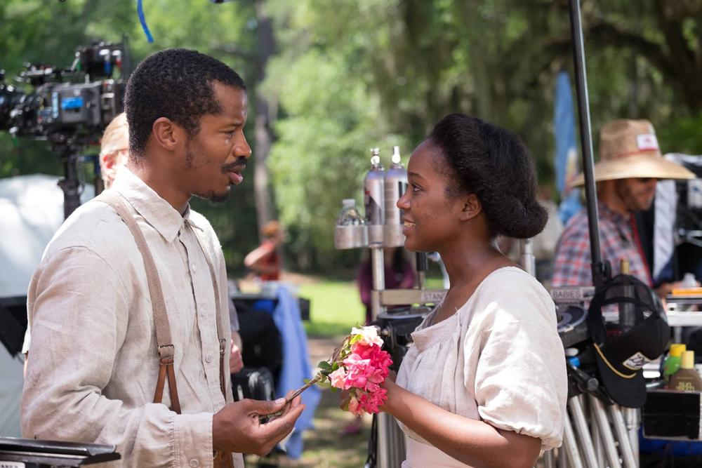 The Birth of a Nation_movie_aja naomi king and nate parker