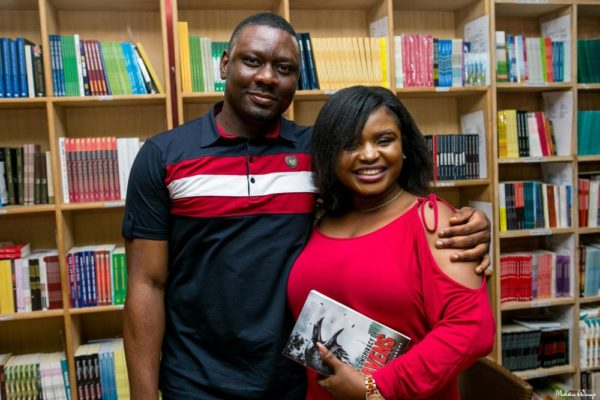 The author with blogger, Oyinkansola Awolo