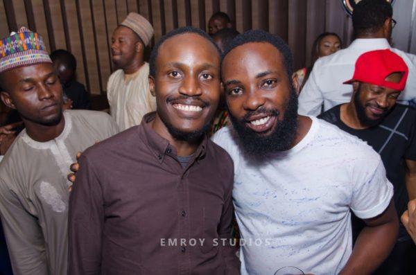 Tolu Ogunlesi and Ishaya Bako