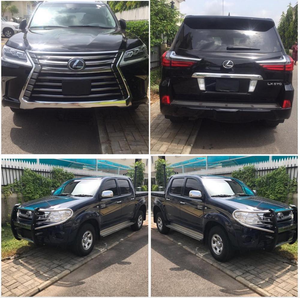 Tonto Dikeh 2017 Lexus 1