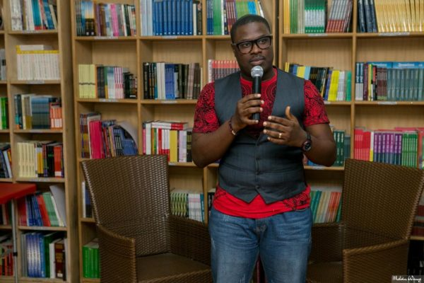 """Tunde Leye, Author """"Guardians of the Seals"""""""