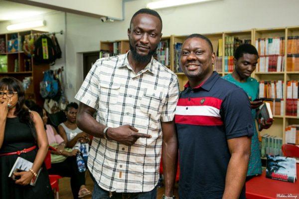 Ugonna Ogueri with Othuke Ominiabohs