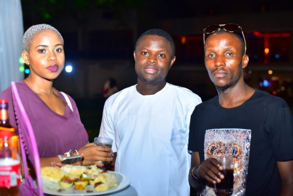 Wande Alaran and guests