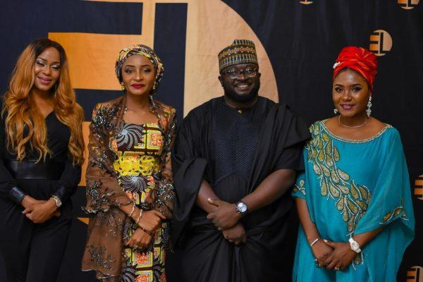 Yvonne Hays, Rahama Sadau, Dimbo Atiya & Nita Byack George