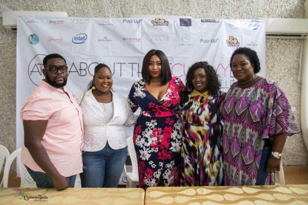 Matthew Idiang, Tobi Ogundipe, Latasha Ngwube, Makioba Susan Olugbile and Osa Aisien