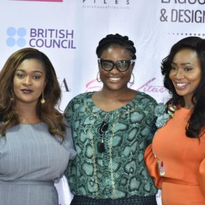 From Left: Jennifer Onochie(), Londe Thompson (), Ogwa Iweze (Creative Director, DYZN)