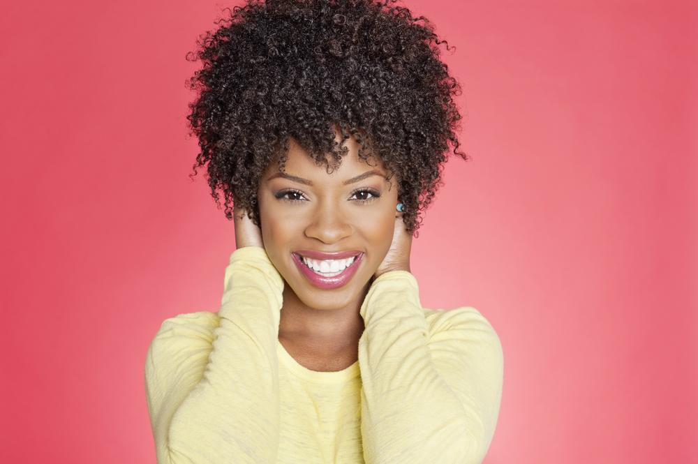 dreamstime_african american woman natural curly hair