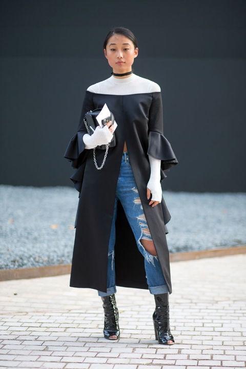 fashion week_Magaret Zhang hbz-street-style-paris-ss2016-day8-08_bellanaija