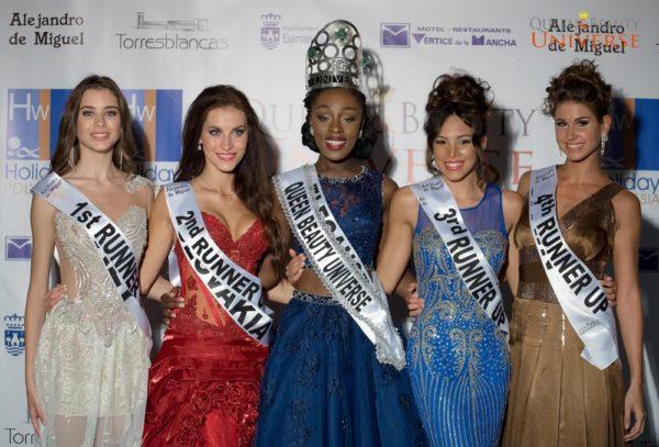 Abena Akuaba at 2016 Queen Beauty Universe