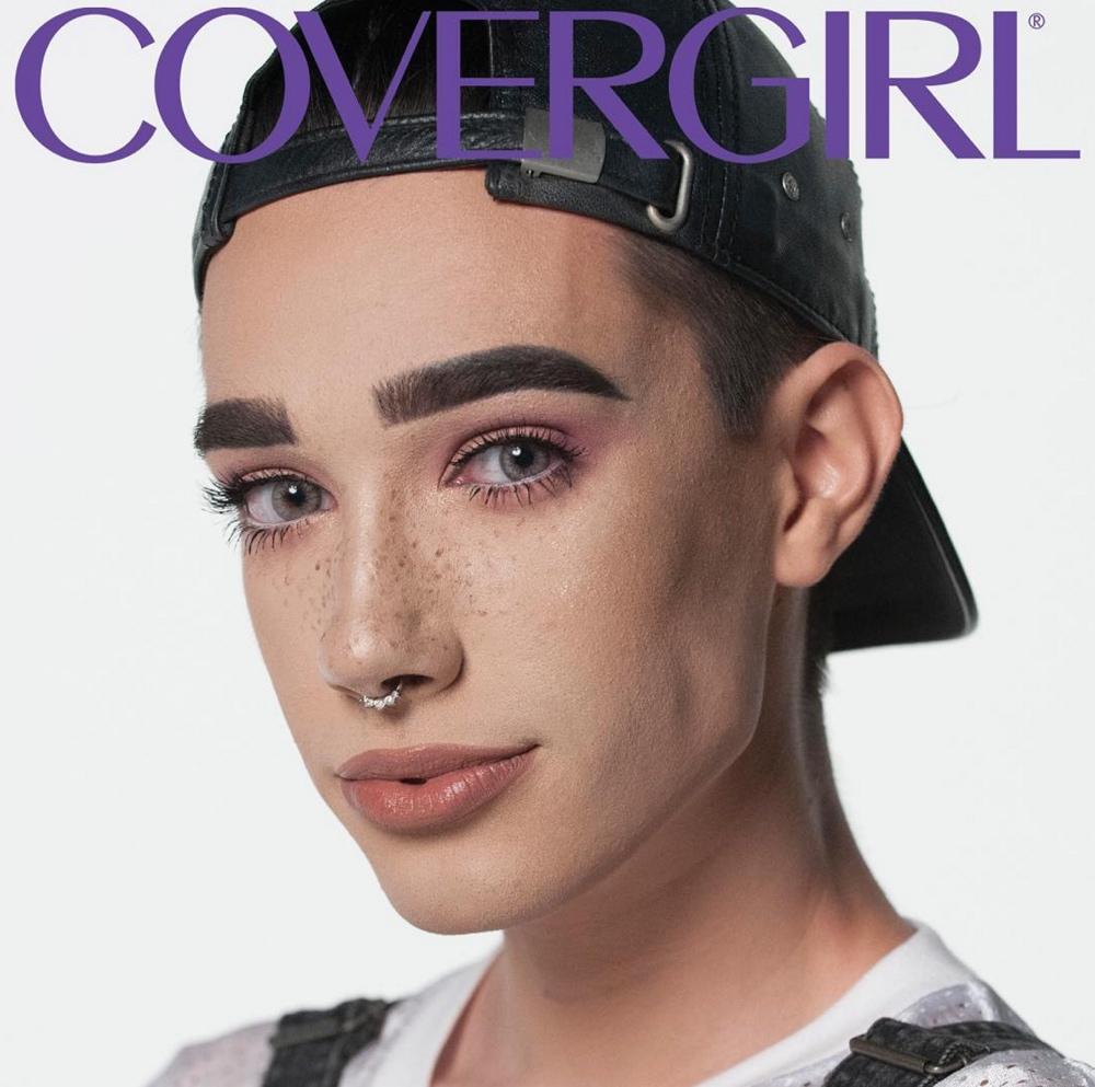 _james charles covergirl_bellanaija