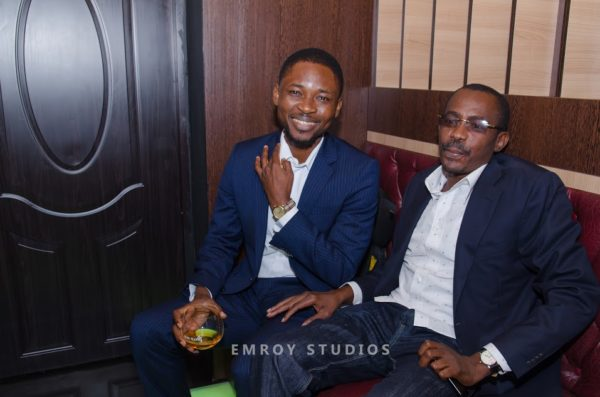 Omojuwa and CEO Comrade Air, Umar Mohammed