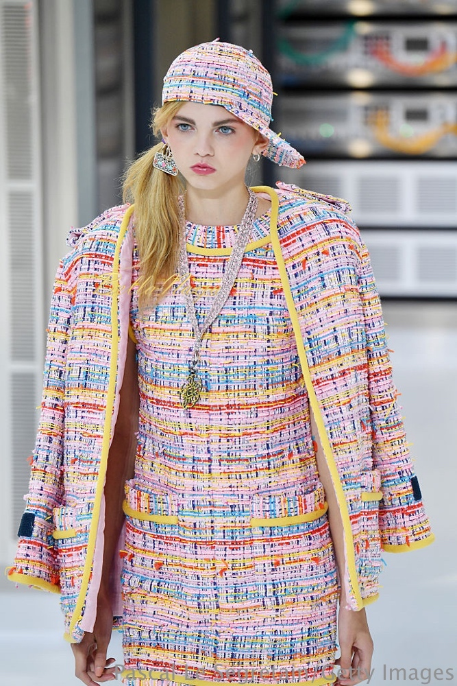 PARIS, FRANCE - OCTOBER 04: Molly Blair walks the runway during the Chanel show as part of the Paris Fashion Week Womenswear Spring/Summer 2017 on October 4, 2016 in Paris, France. (Photo by Pascal Le Segretain/Getty Images)
