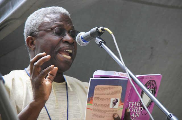 Image result for Prof. Niyi Osundare