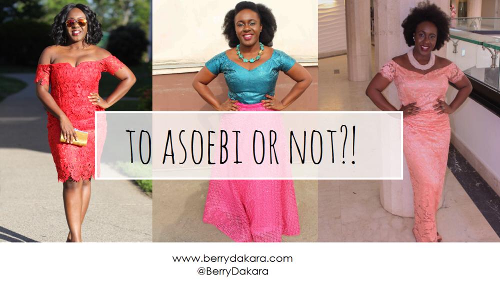 to asoebi or not-berry dakara