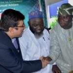 L-R: Managing Director, Rb West Africa, Mr Rahul Murgai; Permanent Secretary, Lagos State Ministry Of Environment, Engr. Adeyemi Saliu Abidemi And Representative Of Lagos State Governor, Mr Babatunde Hunpe, Special Adviser To The Governor On Environment At The 2016 World Toilet Day Celebration Held In Lagos In Partnership With Harpic
