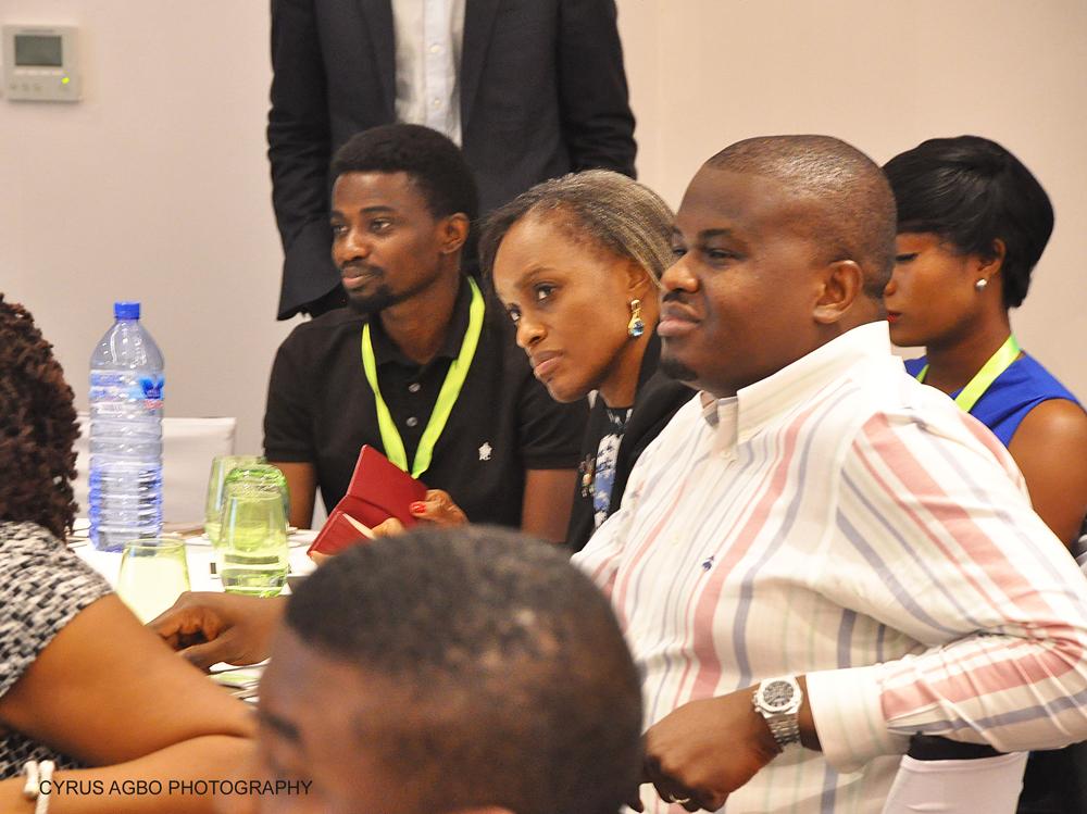 L -R Ayodeji Balogun, Chief Technology Officer, Twinpine; Omobola Johnson, General Partner at TLCom Capital; Elo Umeh, Founder, Twinpine