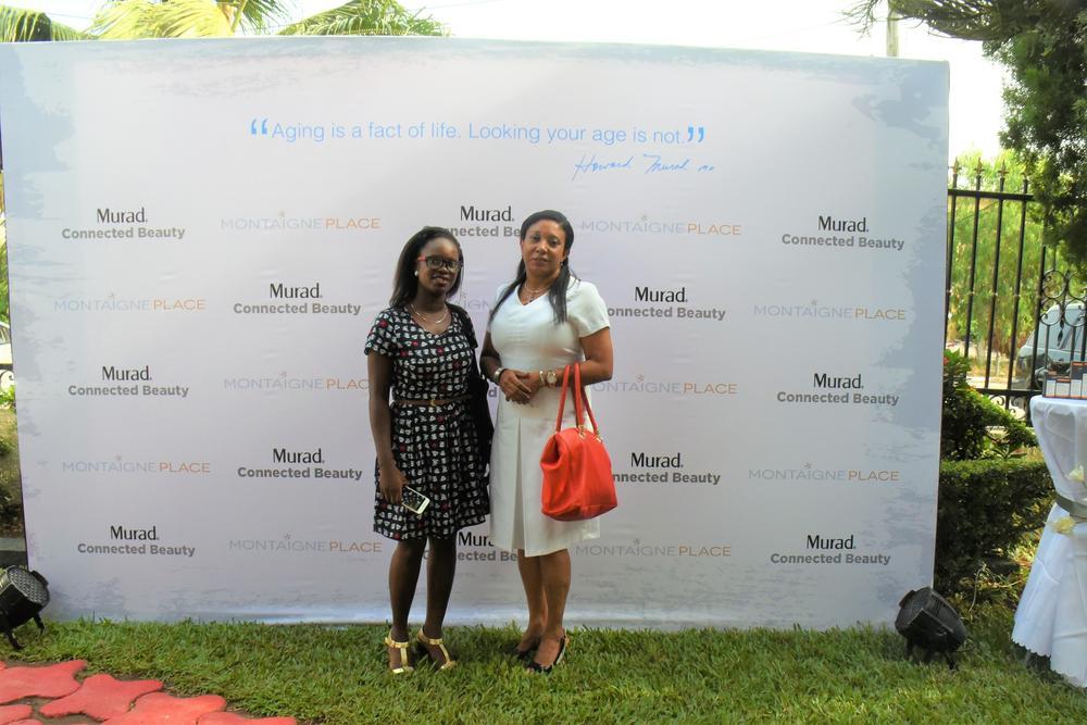 Dr. Ayesha Akinkugbe & Friend