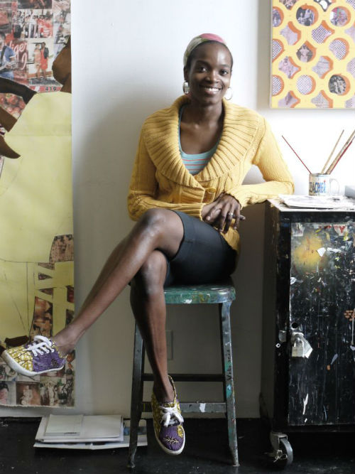 "Njideka Akunyili Crosby awarded the MacArthur ""Genius"" Fellowship - BellaNaija"