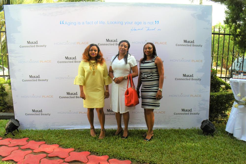 Funmi Elliott, Dr Ayesha Akinkugbe; Queen Ogunsile