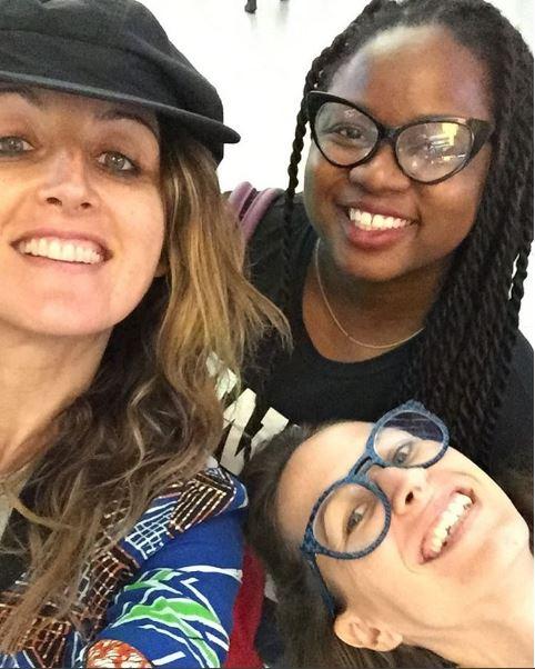 ...with Francesca and Catherina of Kinabuti