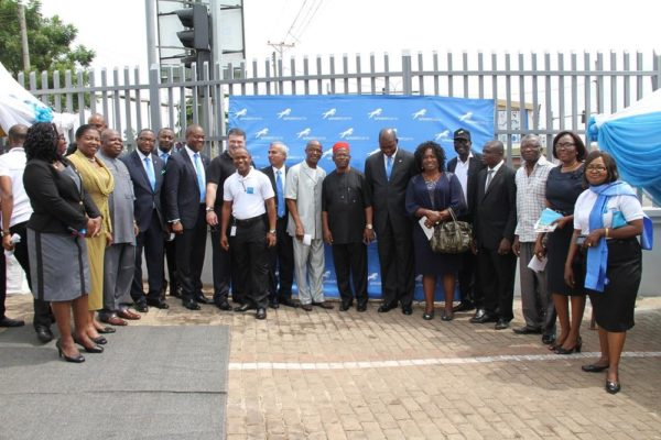 Union bank officials and guests at the launch of the new Union Bank branches in Enugu