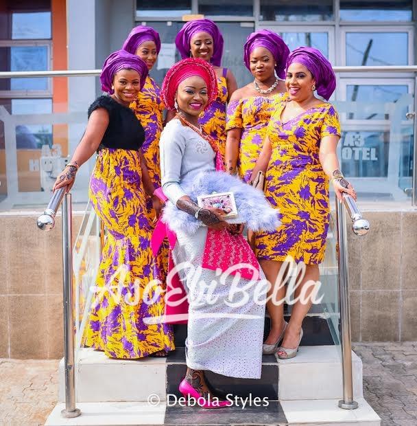 @aishatoyin Makeup @oteniaramakeovers Photography @thedebolastyles