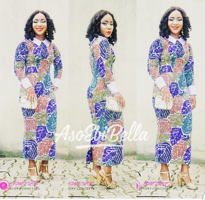 @barbieayo in @house of tobee Blings@bimpsmartelle Aso ebi @barbieayo