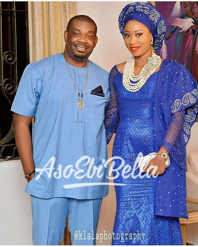 @donjazzy & bride Ewamade for #gmade2016 photography by @klalaphotography MUA @bmpromakeup