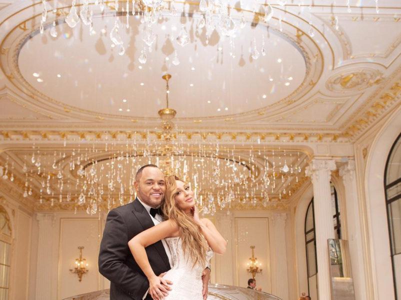 182b2d8272 Adrienne   Israel Houghton Release More Photos of Their Parisian Wedding