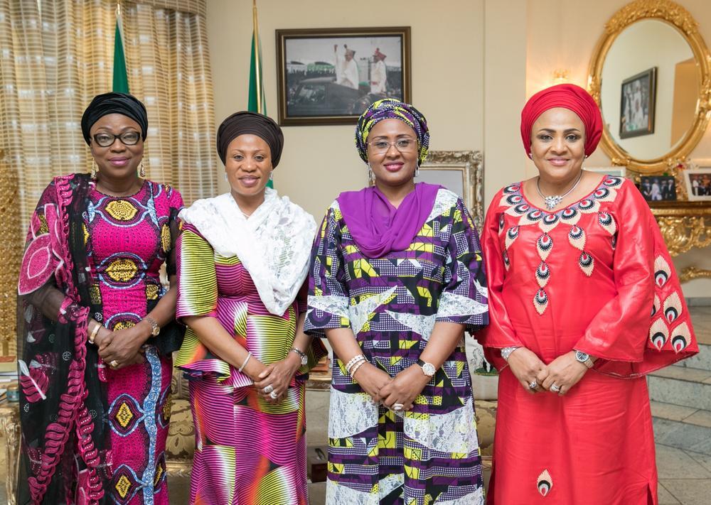 aisha-buhari-ambode-aregbesola-wives