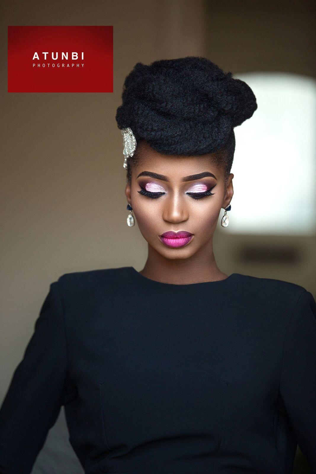 Bn Bridal Beauty Parispurple X Atunbi X Charis Hair S