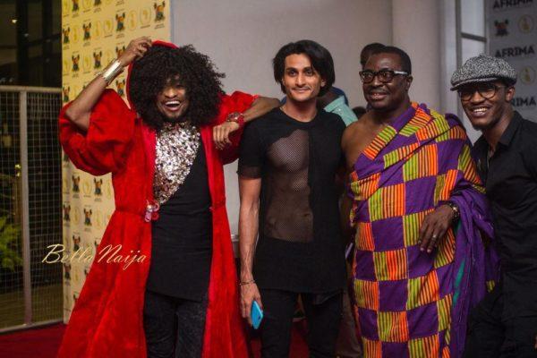 Denrele Edun, Bassey, Ali Baba & Gideon Okeke