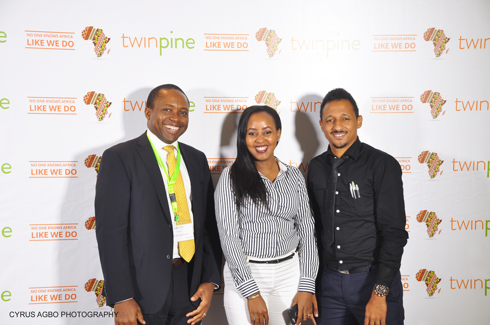 Dr. Eugene Ohu, Faculty, Lagos Business School; Teresia Kinuthia,Regional Manager, East and Central Africa,Terragon, Dr. Francis Okoye, Lagos Business School.