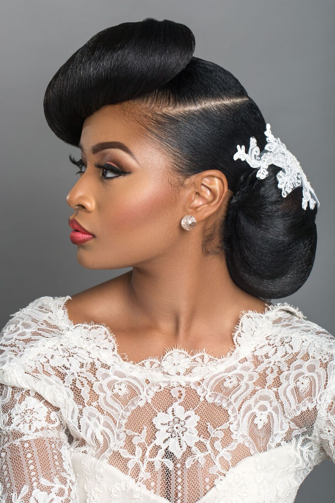 Bridal Beauty Inspiration: 'From Retro to Afro' Photo