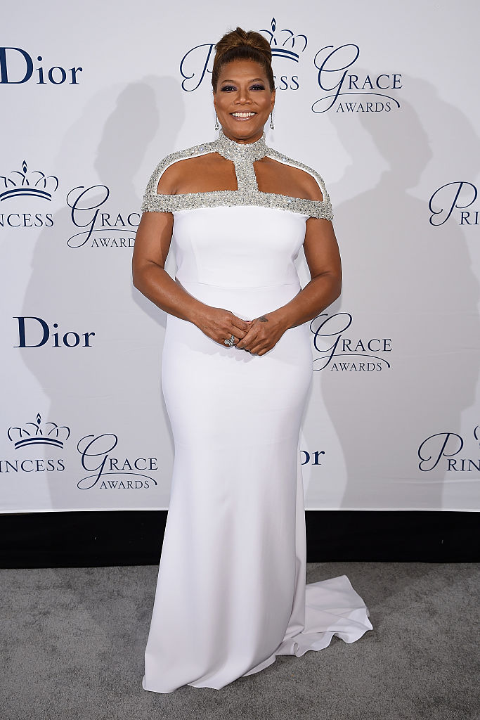 NEW YORK, NY - OCTOBER 24: Queen Latifah attends the 2016 Princess Grace Awards Gala with presenting sponsor Christian Dior Couture at Cipriani 25 Broadway on October 24, 2016 in New York City. (Photo by Dimitrios Kambouris/Getty Images for Princess Grace Foundation)