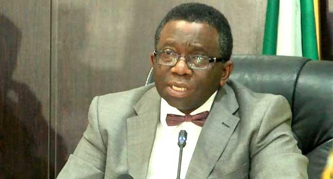 Health Minister Isaac Adewole