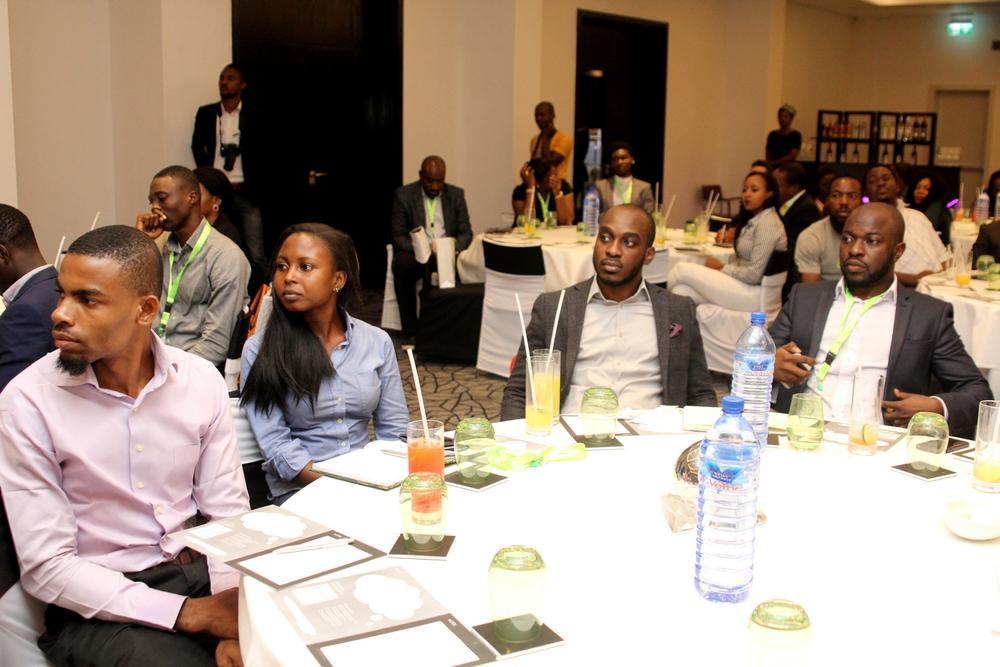 Ige Temitayo, Strategy Lead, Ogilvy Africa; David Ole,Planning Director, Sponge Group; Oti Ukubeyinje, Media Director, Sponge Group.