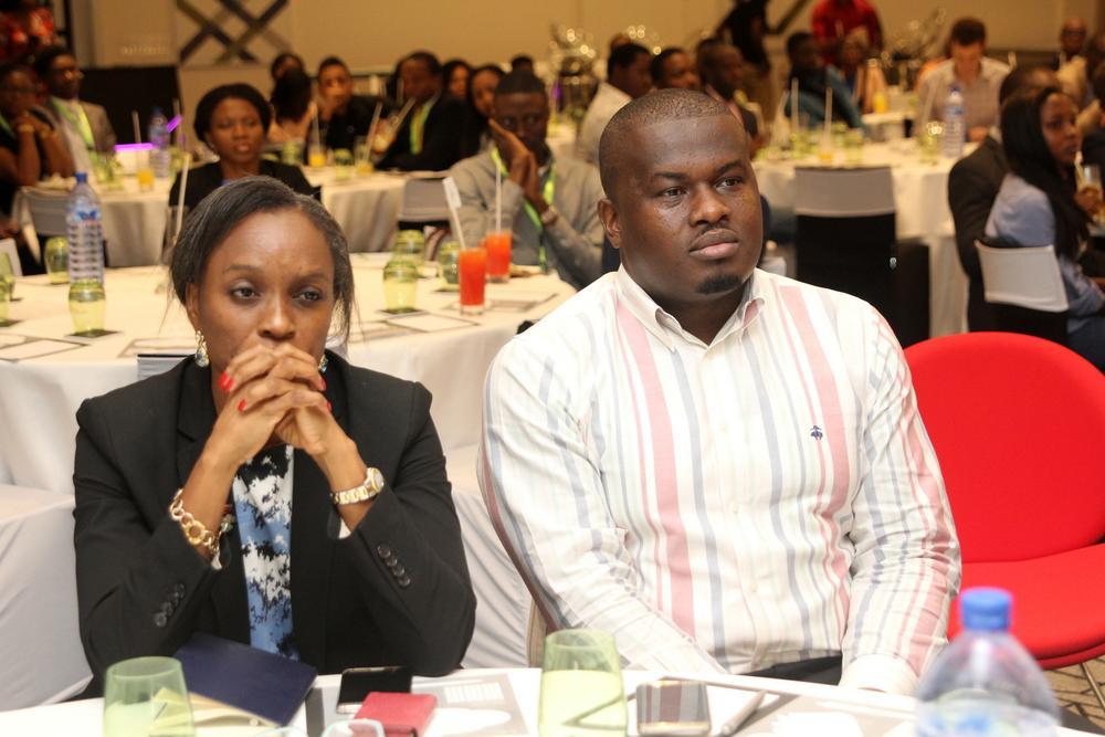 Omobola Johnson, General Partner at TLCom Capital; Elo Umeh, Founder, Twinpine