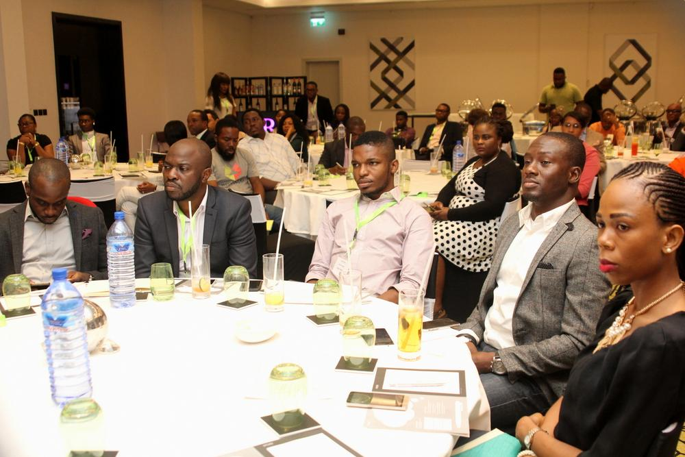 David Ole, Planning Director, Sponge Group; Oti Ukubeyinje, Media Director, Sponge Group; Tunde Kara, Director, Sales & Bus Dev (Pulse.ng) Ringier Africa; Toheeb Azeez, Media Manager, Nigeria Breweries; Odubanjo Anu, Content Director, Iconway.