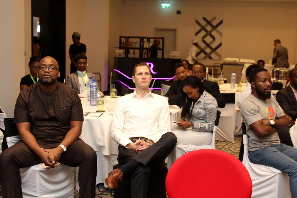Chika Nwobi, Founder/CEO, L5LAB; Tom Terbell, Partner Rise Capital; Peter Ajegbomogun, Managing Partner, WebCoupers.